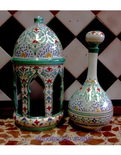 aplique cerámica árabe andalusí