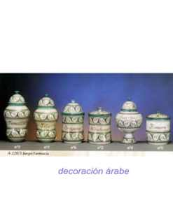 tarros cerámica farmacia