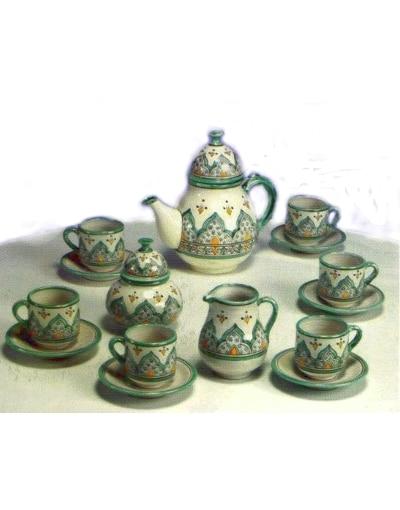 juego de té cerámica