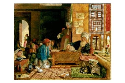 lamina pael acuarela Egipto
