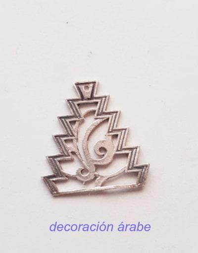 pendientes palta arabes Almena