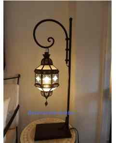 lámpara marroquí cristañ