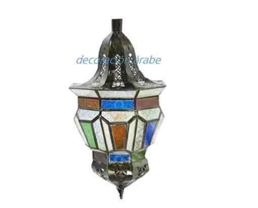 lámpara árabe techoTrapecio