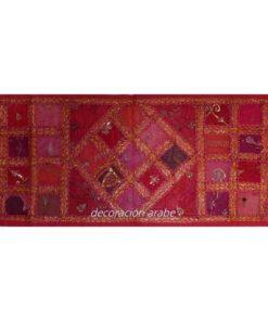 tapiz india alargado pathworj rojo