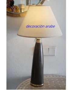 lámpara marroquí de mesa