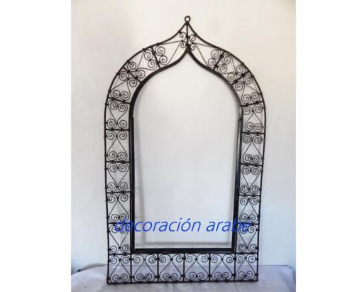 espejo marroquí forja