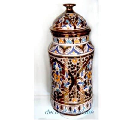 albarelo cerámica árabe nazarí