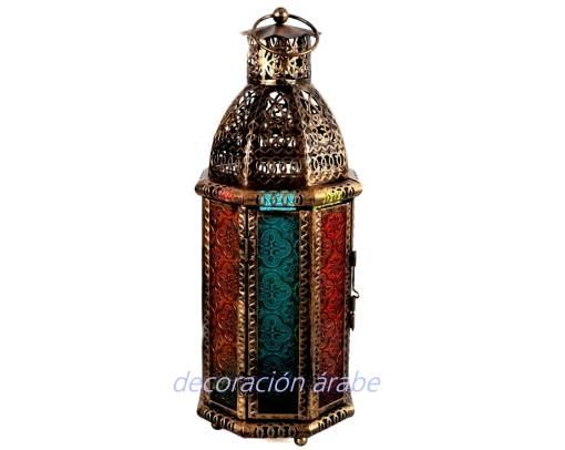 farol marroquí vela