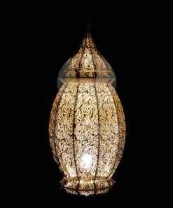 lámpara de sobremesa india Goa