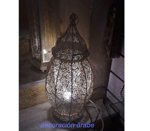 lámpara mesa india Goa