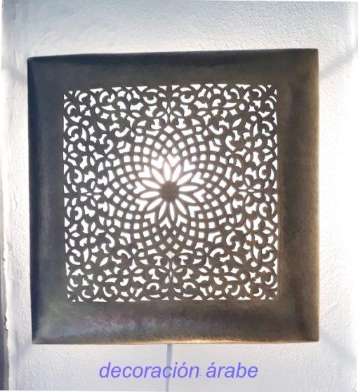 aplique árabe cobre