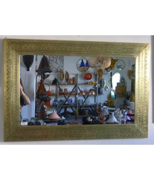 espejo latón árabe