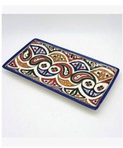 bandeja cerámica marroquí