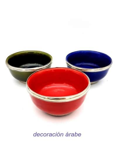 cuencos de cerámica marroquí