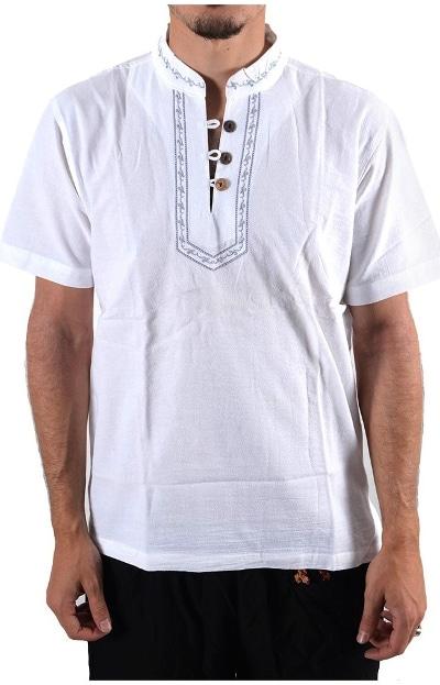 camisa algodón hombre casual