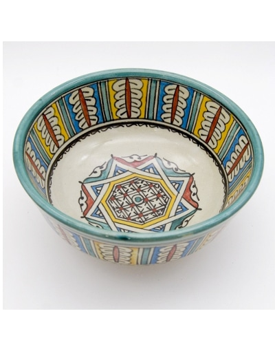 bol cerámica marroquí