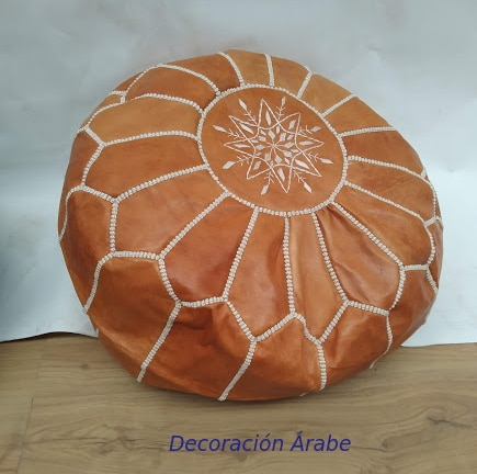 pff arabe cuero marron de cuero