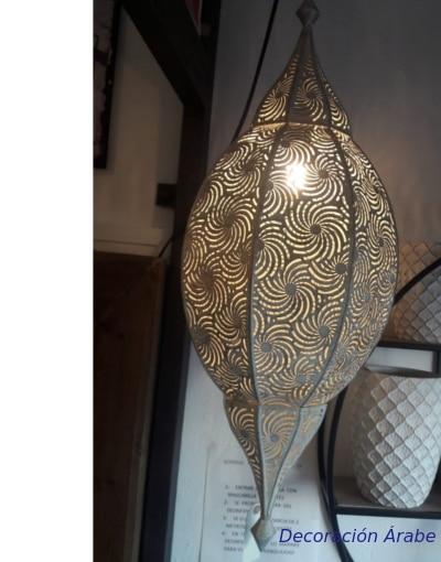 lampara de India vintage espiral