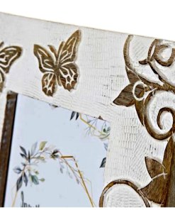 marco para foto madera de mango detalle