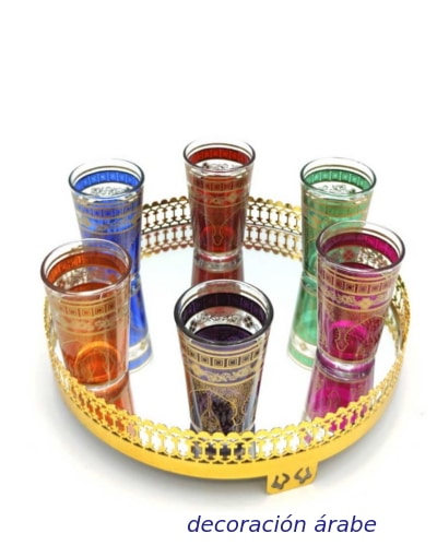 vasos marroquíes té
