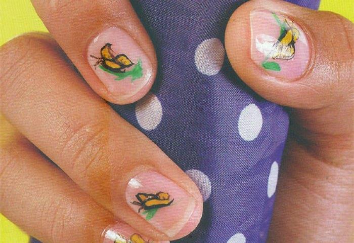 Diseños De Uñas Con Mariposas Decoracion De Uñas