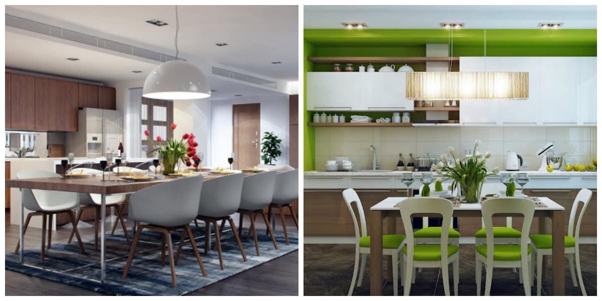 Diseos de cocinas comedor Interiores de cocinas comedor