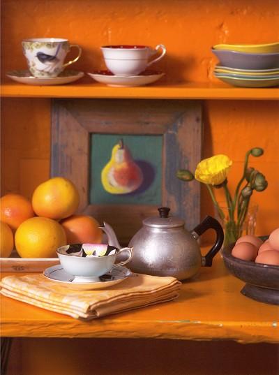 Para la Cocina Alegra Color Naranja  DecoracionIN