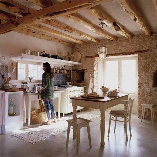 Cocina y Comedor con Clida y Rstica Decoracin  DecoracionIN