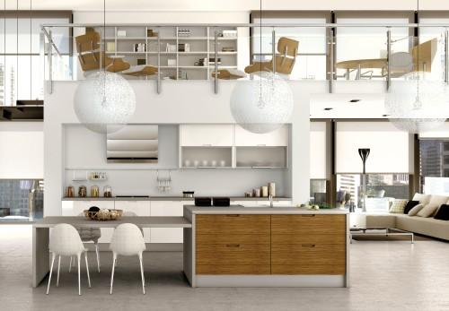Cocinas de Planta Abierta  Lofts  DecoracionIN