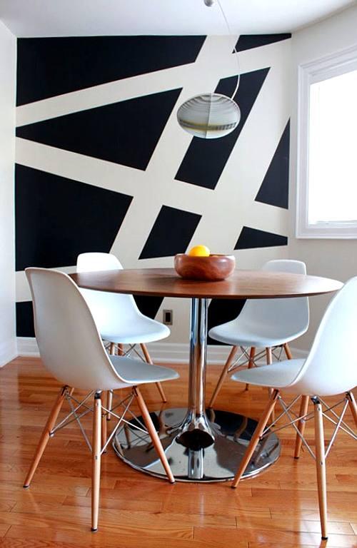 Muebles Clsicos del Diseo Moderno en el Comedor