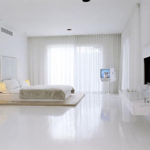 Dormitorio Minimalista  DecoracionIN