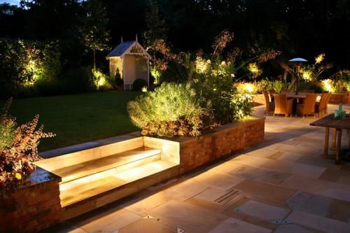 Opciones de Iluminacin para el Jardn o Terraza