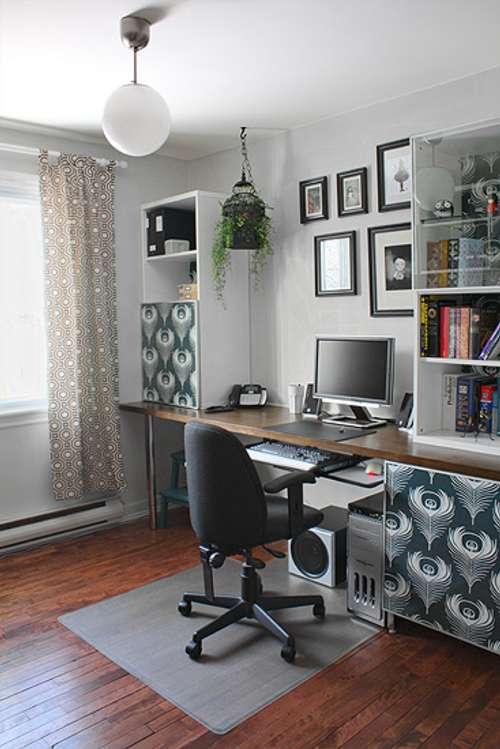 Inspiradora Oficina en Casa  DecoracionIN