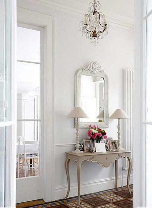 Recibidores Elegantes con Muebles Vintage  DecoracionIN