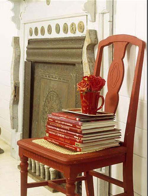 Sillas Libros y algn Detalle Ms  DecoracionIN