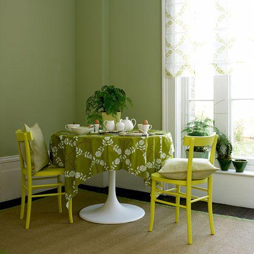 Verde para el Comedor  DecoracionIN