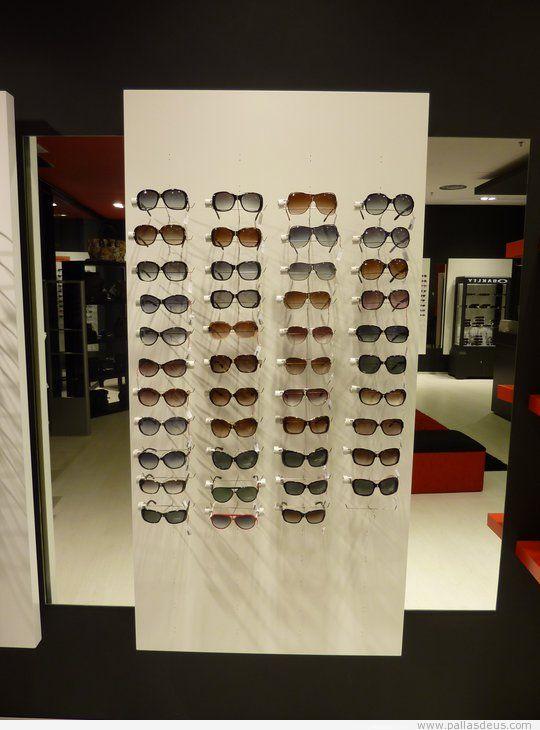 Expositor para gafas de ptica  Carpintera Pallas Deus