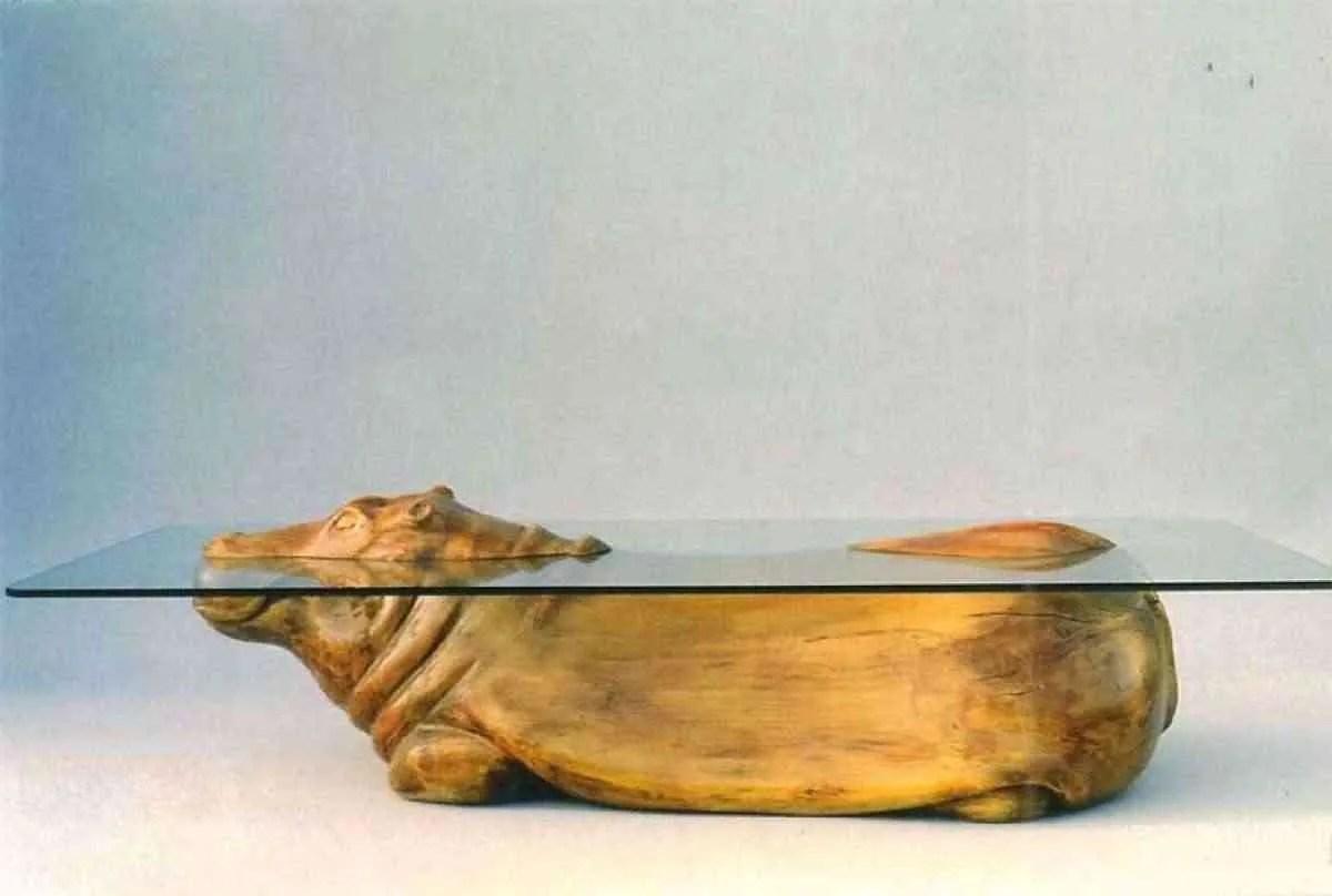 15 mesas de cristal muy originales