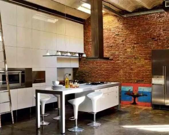 Decorar una cocina con estilo industrial