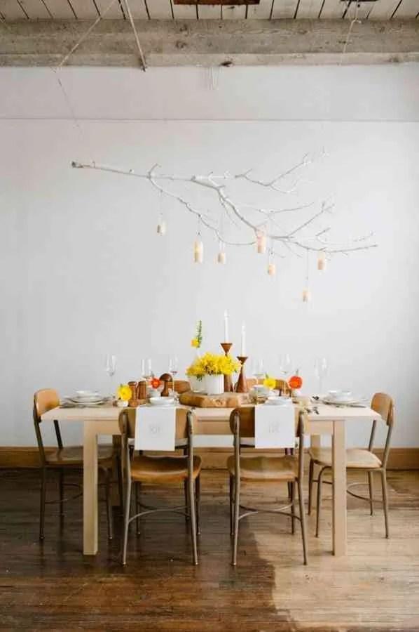Cmo decorar con ramas de rboles