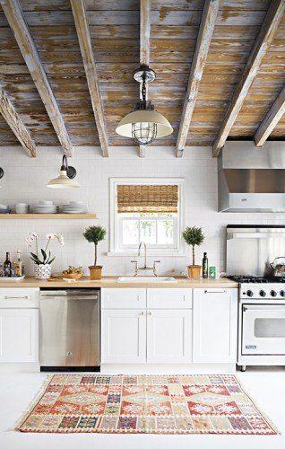 Techo de madera para cocinas que se vern fantsticas