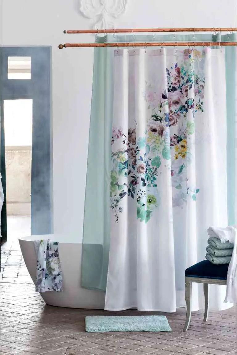 Las cortinas de bao originales del momento
