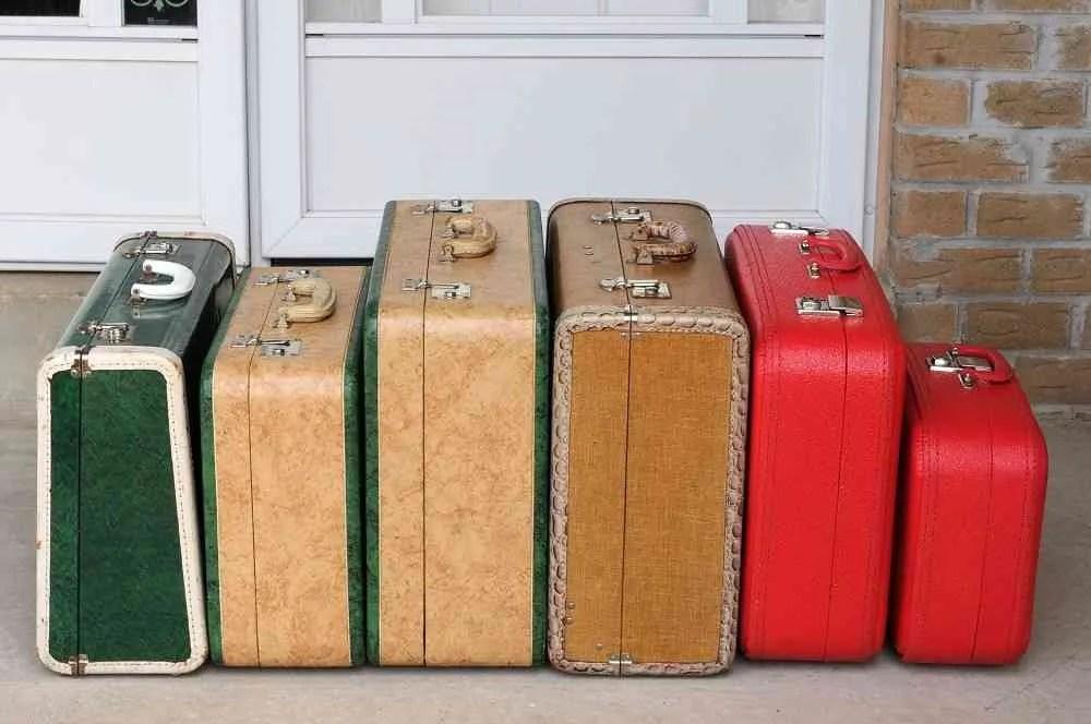 Decorar con maletas antiguas de estilo vintage