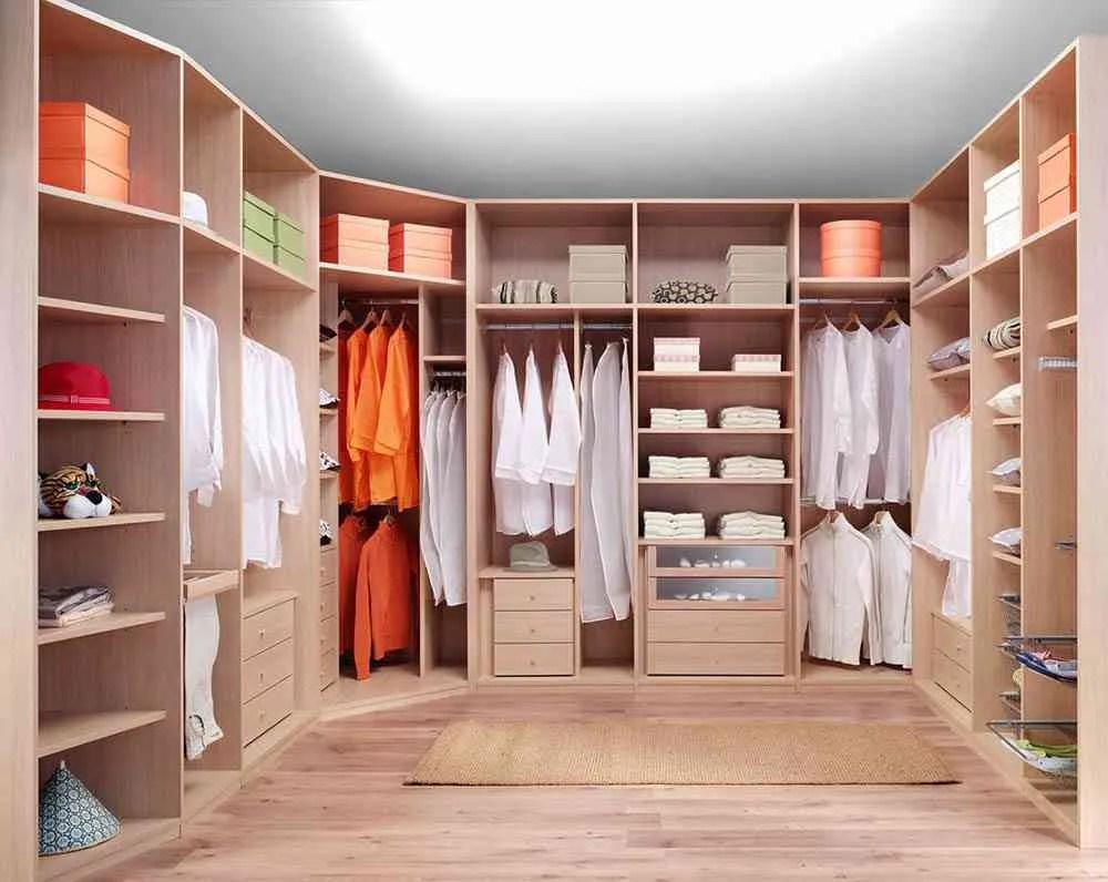 Claves para disear el interior del armario empotrado