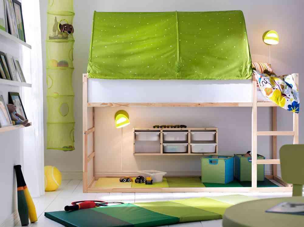 Las ventajas de las camas altas para nios