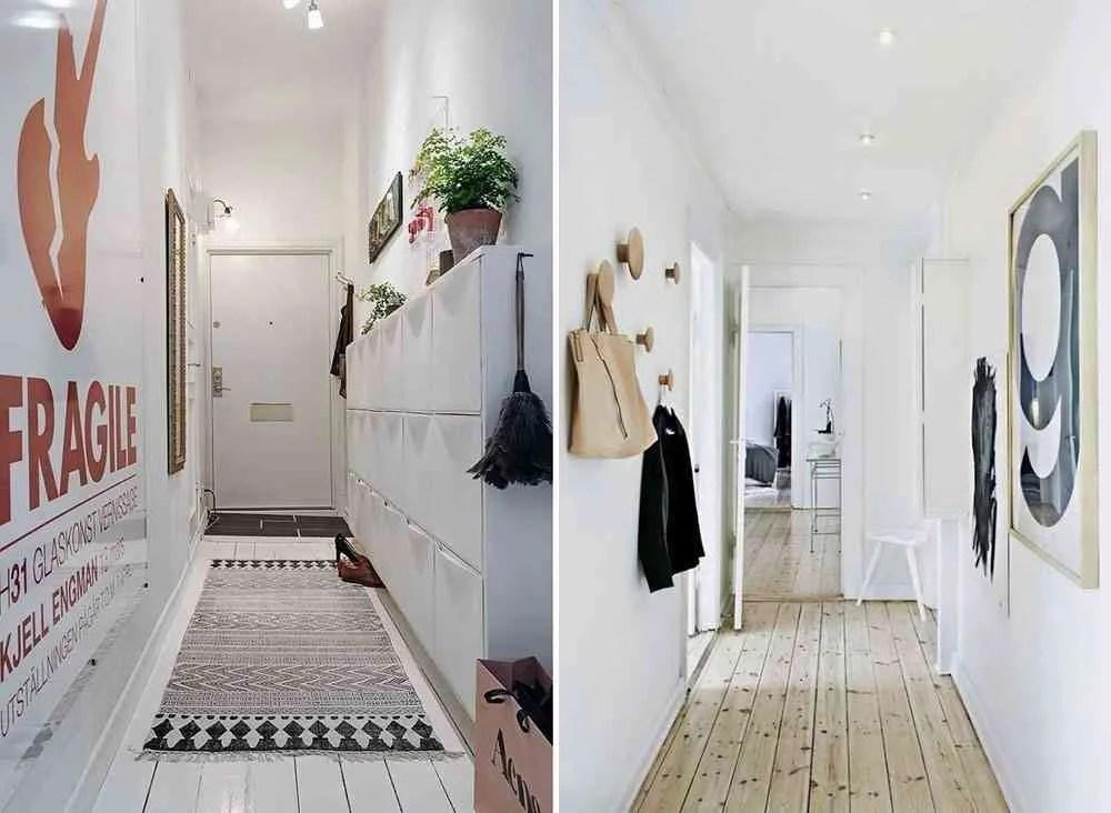 Cmo decorar un pasillo estrecho para sacarle el mximo
