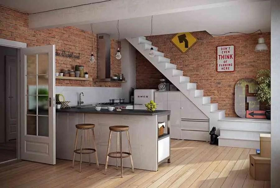 Las ventajas e inconvenientes de tener una cocina abierta al saln