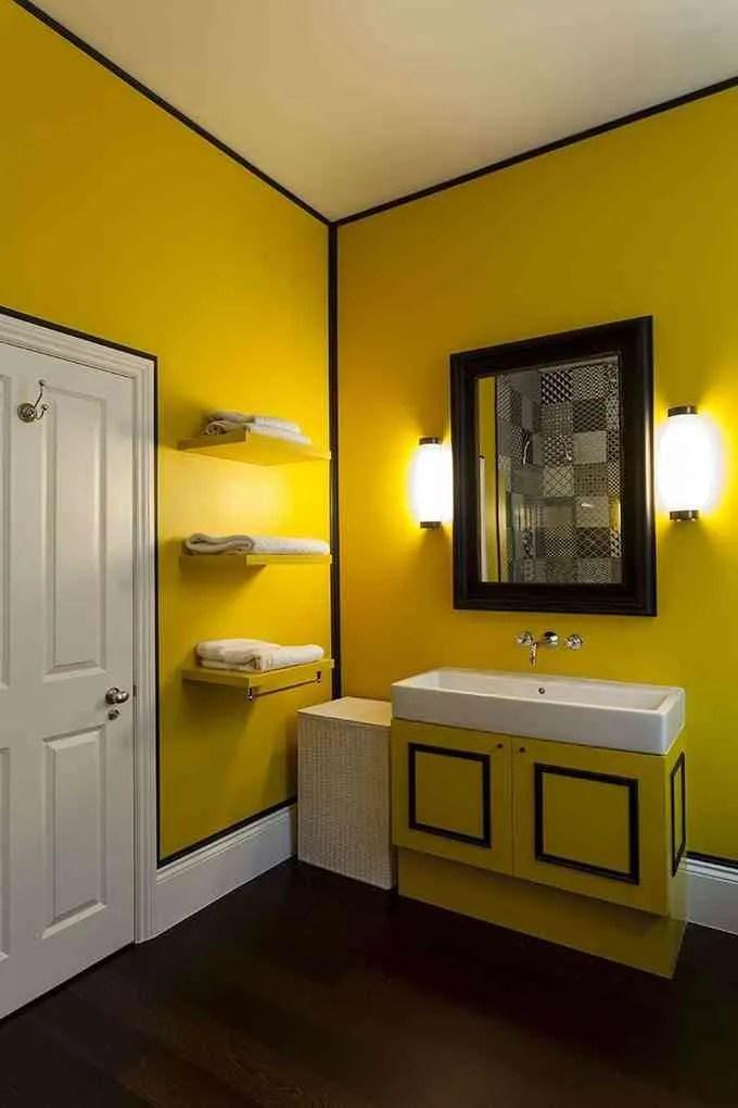 Decoracin en amarillo el color que triunfa en el hogar