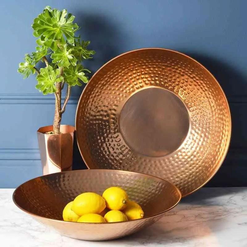 Objetos de cobre para decorar tu casa