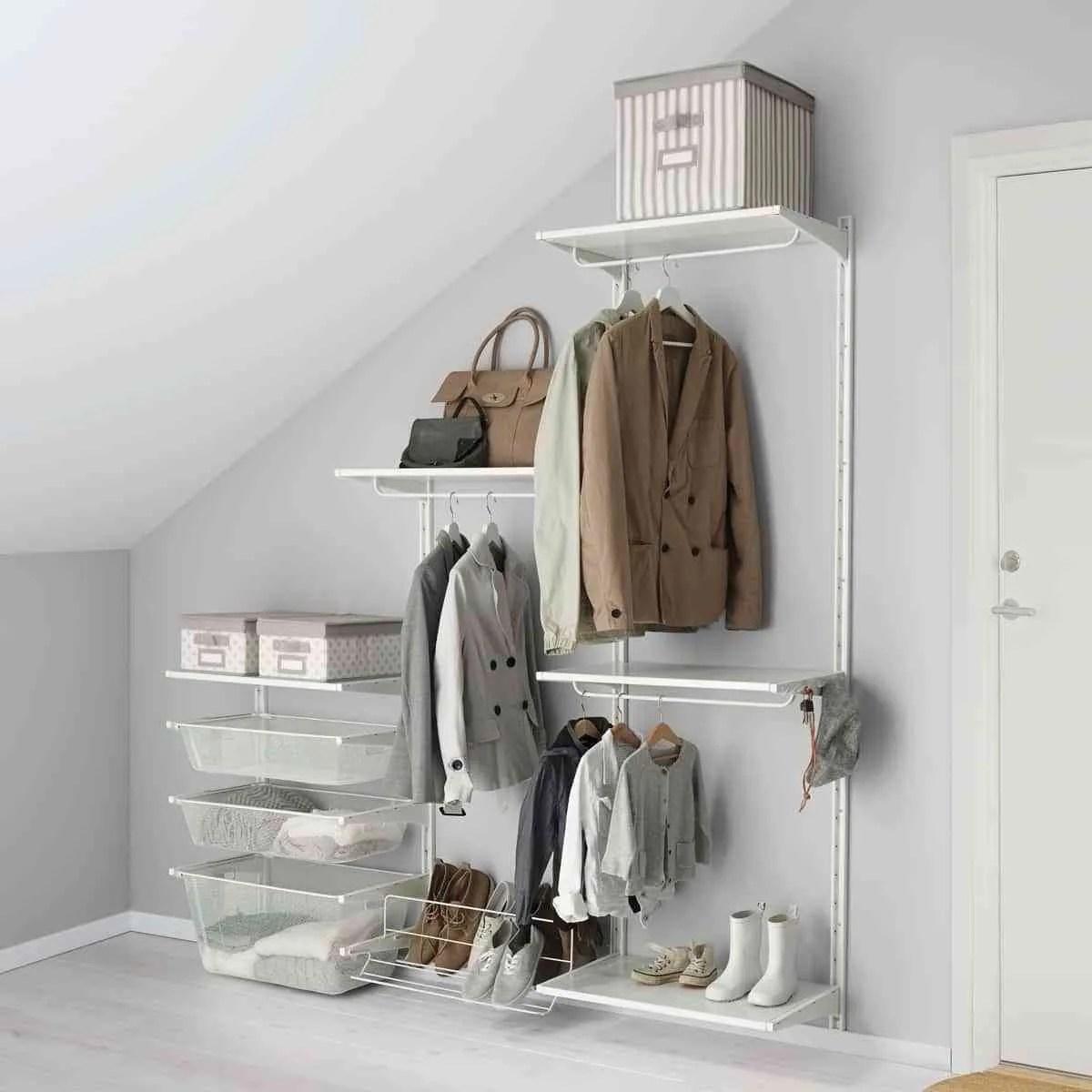 Cmo hacer un vestidor barato para organizar la ropa